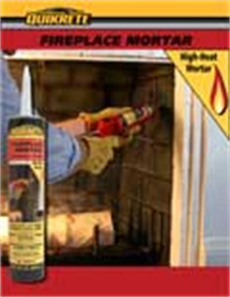 Quikrete Fireplace Mortar by Quikrete 174 In The Mix Newsletter