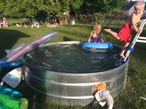 Stock Tank Pool by How To Make A Stock Tank Pool Embracing Motherhood