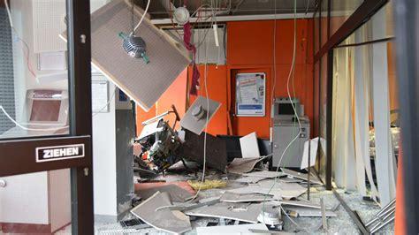 sparda bank automat mutterstadt unbekannte sprengen geldautomaten der sparda
