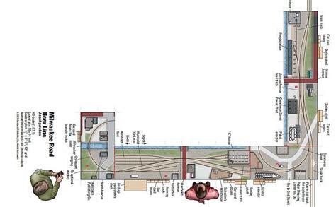 Model Railway Shelf Layout by Columbia River Crossing N Scale Shelf Layout Model