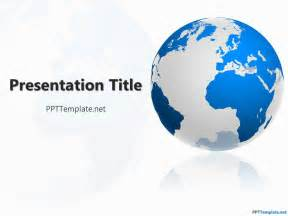 global powerpoint template free geography ppt template