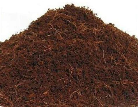 fiber soil hydroponic growing media coconut fiber coco coir natural