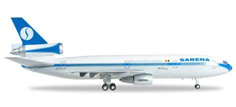 Herpa Sabena Mcdonnell Douglas Dc 10 30 H528047 scale model store herpa wings 1 200 556705