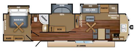 jayco travel trailer floor plans 2018 jay flight bungalow travel trailer floorplans