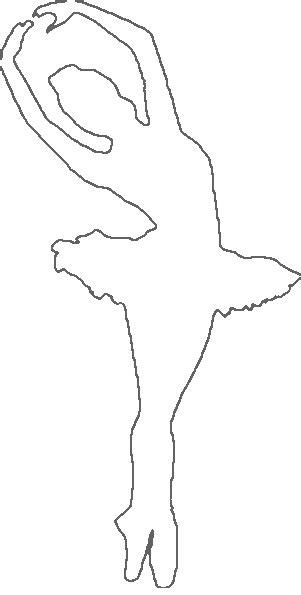 printable ballerina templates white ballerina template google search bailarinas de
