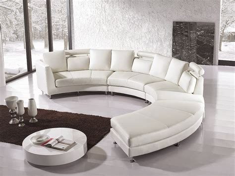 modern white leather sectional sofa with built in light manhattan modern white leather sofa set house of all