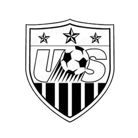 Galerry usa soccer coloring page