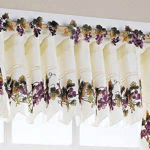 Kitchen Curtains With Grapes Grapevine Kitchen Curtains Curtain Design