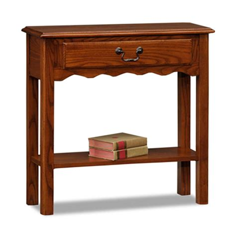 narrow entryway tables amazon com amazon com leick shaker square end table medium oak
