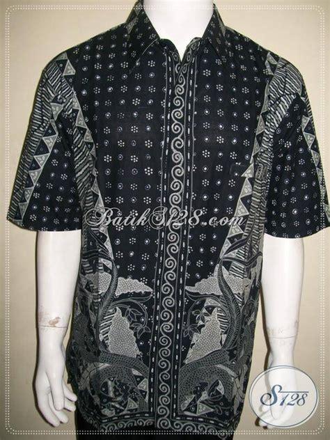 Pendek Hitam Big Size Ukuran Besar Jumbo hem batik jumbo batik tulis lengan pendek big size besar ukuran ld806t toko batik