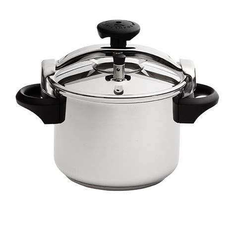 Oxone Ox1110 Professional Pressure Cooker 10 L silos classic stainless steel pressure cooker 10l 25cm