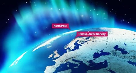 northern lights viewing map 3 things to do in tromso