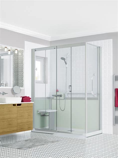 kinedo cabine de cabine de kinemagic serenite plus kinedo induscabel salle de bains chauffage et cuisine
