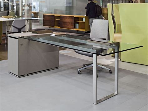 glass executive desk office furniture executive desk glass contemporary deck jorge