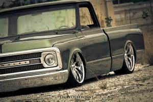 chevy truck low slammed tucking cars trucks