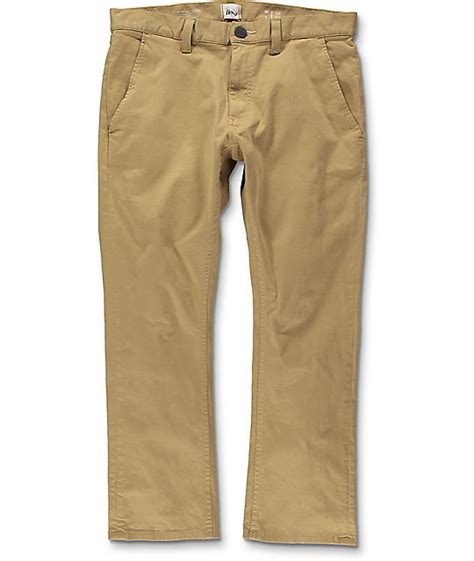 Chinopants Zlstore imperial motion federal cropped khaki chino