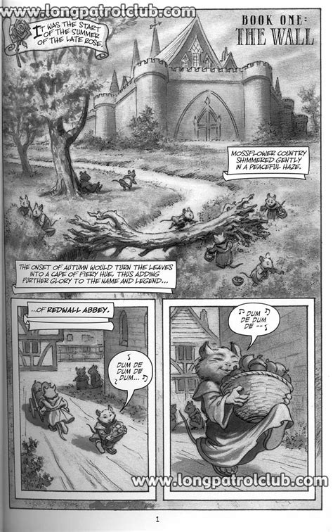 The Long Patrol - Redwall: The Graphic Novel
