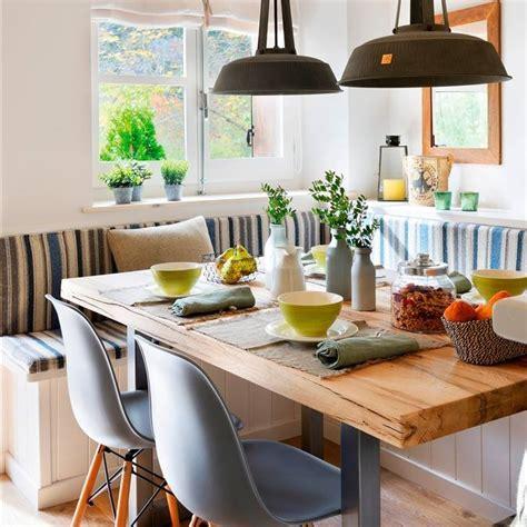 comedor y sala pequeños sillas y mesas de madera blanco