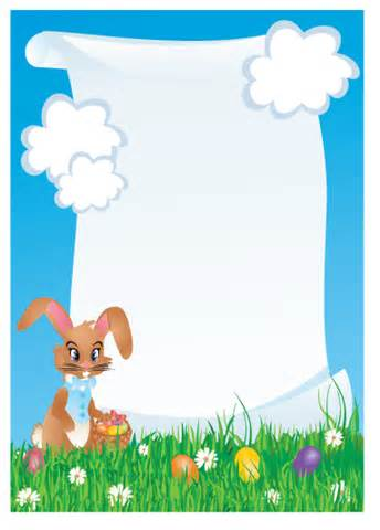 Letter To The Easter Bunny Template by Imagination Destination Llc Characters Easter Bunny