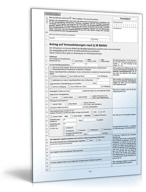 ab wann elterngeld antrag stellen antrag auf vorausleistungen nach 167 36 baf 246 g formular zum