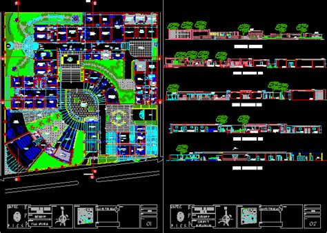 desain lu emergency salud center hospital project 2d dwg full project for