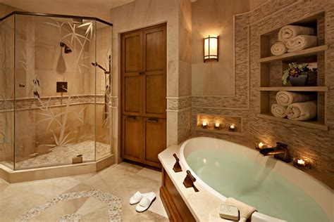 spa bathroom at home furnish burnish