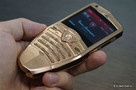 Lamborghini Luxury Phone Lamborghini Launches Gold Plated Cell Phones And A Tablet