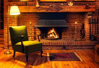 By The Fireplace by Who Sells Their Property In Winter