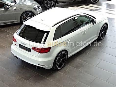 Audi Rs3 Mieten by Audi Rs3 Mieten Rent Youtube