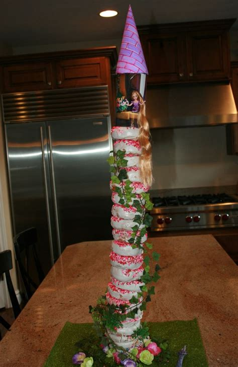 donut tower ideas  pinterest baby shower brunch birthday brunch  bridesmaid brunch