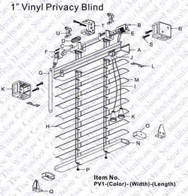 Window Blind Hold Down Brackets - blindsparts com