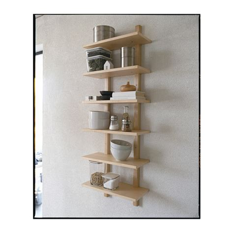 v 196 rde wall shelf birch 50x140 cm ikea