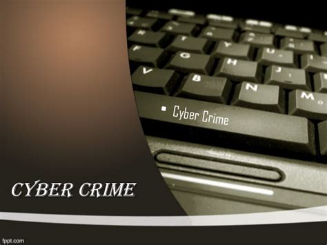 Cyber Crime Ppt Cyber Crime Ppt Templates Free