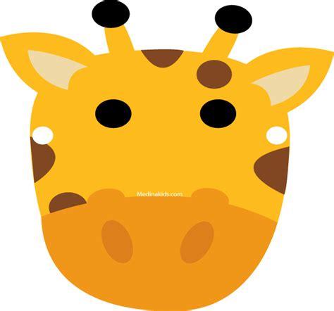 printable giraffe mask template best photos of giraffe mask printable template giraffe
