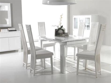 remarkable kitchen creative design white dining table and chairs bold modern white dining room