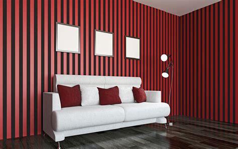 red white black decor spotty wallpaper interior design black and red interior design home mansion