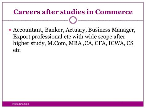 Mba After Ba In Economics by Career Opportunities After 12th
