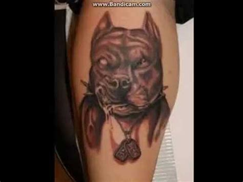 pitbull tattoos best tatoo images youtube