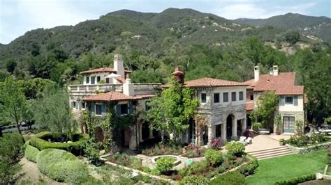 jeff bridges montecito villa up for sale at