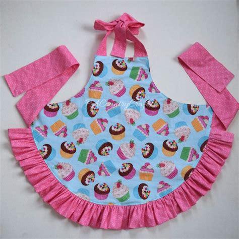 pattern apron pacountrycrafts girls ruffle apron pattern and tutorial