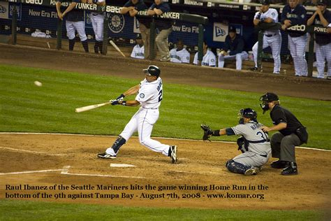 Home Run Baseball by Baseball Home Run Images