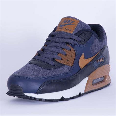 sepatu nike airmax 90 premium blue nike air max 90 premium thunder blue ale brown 700155 404