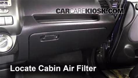 cabin filter replacement honda fit 2007 2008 2008 honda