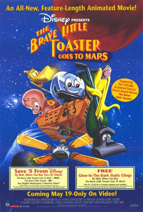 film disney mars image the brave little toaster goes to mars movie poster
