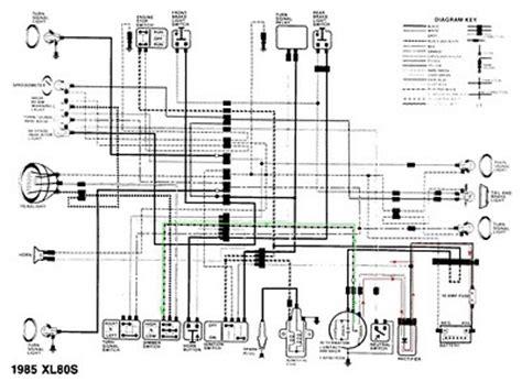 tl125 honda wiring diagram suzuki cars