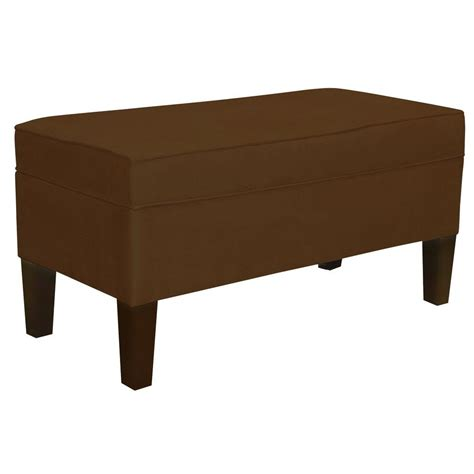 Home Decorators Bench by Home Decorators Collection Chocolate Bench 848pchoc The Home Depot