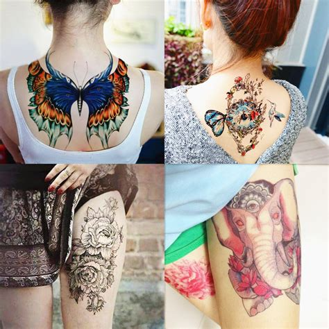 henna tattoos amazon dalin 4 sheets fashion temporary tattoos