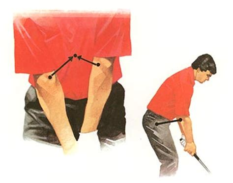 elbow to elbow golf swing my daily swing the modern total body golf swing address