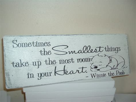 winnie pooh wooden plaque quote 100 years smallest room