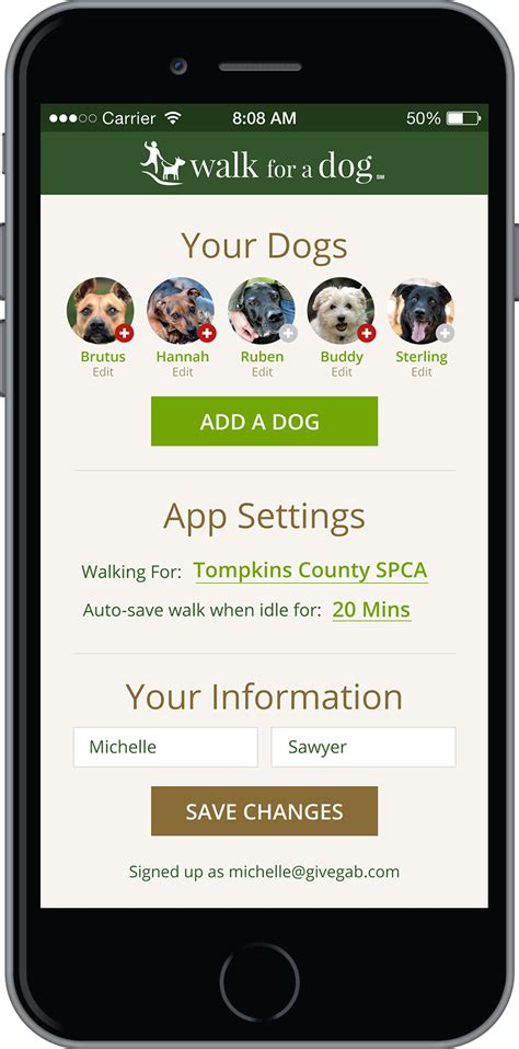 for dogs app walking app helps animal shelters health adoption s